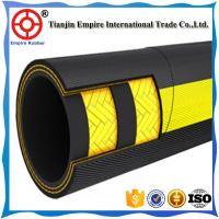 Wholesale DIN EN 853 1ST Standard Black Rubber Hose 3/8 Steel Wire Braided Hydraulic Hose DIN 20022 2SN 2ST wire braided hydrauli from china suppliers
