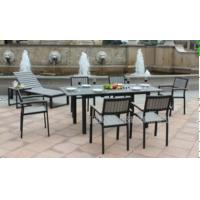 Wholesale All Weather Patio Furniture Dining Sets / 7 Pc Patio Dining Set  For 6 Person from china suppliers