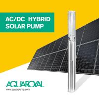 Buy cheap HYBRID SOLAR PUMP 4SP8/4 | MAX FLOW 17.1M3 | MAX HEAD 46M | AUTO AC/DC from wholesalers