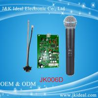 Wholesale JK006D VHF karaoke microphone for android tv with microphone receiver module from china suppliers