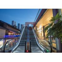 Wholesale Economical Safe Type Outdoor Elevator Escalator 600mm / 800mm / 1000Mm Step Width from china suppliers