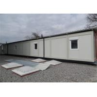 Wholesale Demountable Accommodation Modular Conex Box Homes with Bathroom from china suppliers