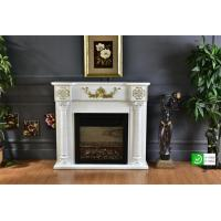 Wholesale LED Electric Victorian Marble Fireplace / Livingroom Summer Cover Fireplace CE from china suppliers