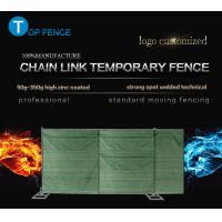 Quality Hot-dip galvanized cheap price temporary chain link fence 6 foot x 12 foot chain link temp fence for sale