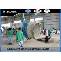 Wholesale Customized Culvert Making Machine For Flat / Socket / Rabbet Joint Pipe from china suppliers