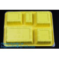 China Personalized plastic food box sushi packaging tray,Food Use and Tray Type disposable plastic sushi tray,fast food tray,p on sale