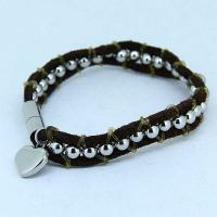 Wholesale High Quality Stainless Steel Fashion Mane's Women's Bracelet LBS245 from china suppliers