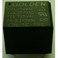 Wholesale 12A 12 Volt / 24 Volt General Purpose Relay Plastic Sealed GH JQC-3FF from china suppliers