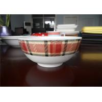 Wholesale Lightweight Melamine Ware Bowls , Modern Dinnerware Sets For Fruit Vegetables Packaging from china suppliers