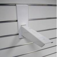 Wholesale Smooth Storage Mdf Board / Pvc Plastic Slatwall Display Rack from china suppliers