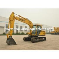 Wholesale LG6150E 4600mm Long Boom Excavator , Energy Saving 10 Ton Excavator from china suppliers