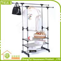 Wholesale New Design Portable Stainless Steel Clothes Three Tier Dryer Rack from china suppliers
