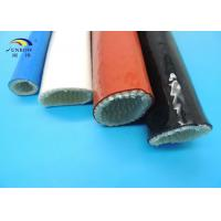 Wholesale Top quality  Hose Silicone fiberglass sleeve  Protection  fire proof sleeving from china suppliers