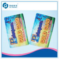 Wholesale Hot Stamping Waterproof Plastic Card Printing , Full Color Membership Card from china suppliers