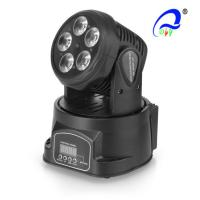 Wholesale DMX512 RGBWA LED Wash Moving Head Light , Party Dj Stage Lights 5pcs * 15W from china suppliers