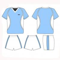 Quality cool dry soccer uniforms shirts and short football tracksuits