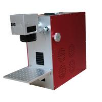 Wholesale Metal Color Deep Engrave Fiber Laser Marking System / Laser Marking Equipment from china suppliers