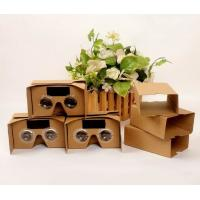 Quality 2016 cheapest price original google cardboard cardboard box vr glass for promotion gifts for sale