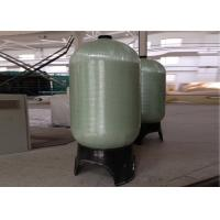 "Wholesale Grey Industrial Water Filter FRP Pressure Tanks 1.0Mpa Dia. 30"" To 48"" from china suppliers"