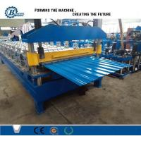 Wholesale Hydraulic Cutting Roof Panel Roll Forming Machine from china suppliers
