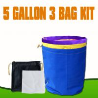 Wholesale 5 Gallon 3 bags kits bubble mesh filter bags  from china suppliers