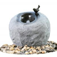 Wholesale Cement Material Modern Outdoor Fountains , Rock Color Stone Garden Fountains from china suppliers