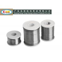 Wholesale High temperature lead wire , 1KG solid 2MM diameter wiring leads from china suppliers