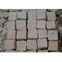 Buy cheap G682 Yellow Granite Cube Stone, Granite Paver, Granite Paving Stone from wholesalers