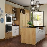 Wholesale Classic Design Melamine Paint Kitchen Cabinets For Apartment Free Standing from china suppliers