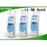 Wholesale Healthcare Self Service Check In Kiosk With Insurance Social Card / ID Card Reader from china suppliers