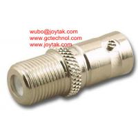 Wholesale Coaxial Adapter Coaxial Adaptor BNC Female To F Male Wall Plate CCTV Connector/BNCF.FF.01 from china suppliers