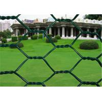 Wholesale 2 inch Woven PVC Coated Rabbit Wire Netting With Low Carbon Steel 3/4'' Galvanized from china suppliers