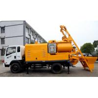 Wholesale Truck Batching Concrete Pump with Mixer from china suppliers