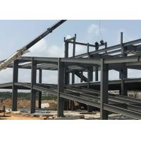 Buy cheap Recyclable Low Carbon Steel Prefabricated Steel Structure Building Customized from wholesalers