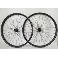 Wholesale 29er 50mm Width Carbon MTB Wheels Matte / Glossy Rim Finish 12 Months Warranty from china suppliers