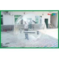 Wholesale Transparent Floating Ball Inflatable Water Toys , Walk On Water Bubble from china suppliers