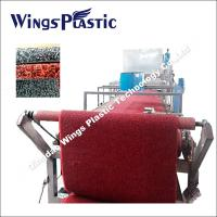 Wholesale Plastic PVC Car Mat Making Line / PVC Coil Carpet Extruding Machine from china suppliers