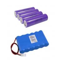 Quality Rechargeable 18650 Li Ion Battery For Lighting / Robot , Long Cycle Life for sale