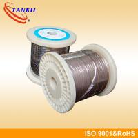 Wholesale Cr30Ni70 Nichrome Ribbon Wire Sable Resistance For Heating Element / Hearter from china suppliers