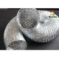 Wholesale Elastic 2 Inch Aluminum Flexible Duct Fire Rated Single Layer For Residential Ventilation from china suppliers