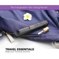 Wholesale Portable Small Size Safe Battery Operated Hair Straightener , Travel Flat Iron from china suppliers