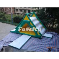 Wholesale Outdoor Water Slide  Inflatable Water Park with Water Toys 7.6mL*3.7mW*4.7mH from china suppliers