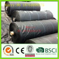 Wholesale pp woven silt fence/geotextile,used for erosion control from china suppliers
