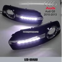 Wholesale AUDI Q5 6 LED cree DRL day time running light kit fog driving daylight from china suppliers