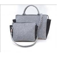 Wholesale good quality new fashion Felt  european tote bag with reasonable price from china suppliers