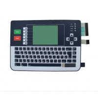 Wholesale Matrix Embossed Buttons Membrane Keyboard Switch With Double Circuit / Connectors from china suppliers