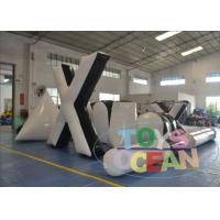 Wholesale White Indoor Inflatable Paintball Bunkers Durable Portable  For Adults from china suppliers