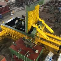 Wholesale 315 Tons Baling Force Cuboid Block Y81F - 315 Cylinder Scrap Metal Press from china suppliers