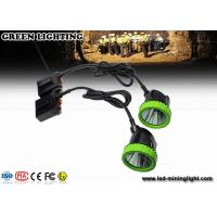 Wholesale Rechargeable Mining Cap Lights , LED Mining Helmet Lights With CE , ATEX , EXIBII MI Approved from china suppliers