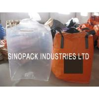 Wholesale Large clear Form Fit PE Bulk Fibc big bag liner for carbons / fine powder from china suppliers